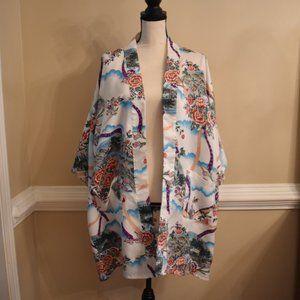 Vintage Floral Robe (Tie Missing)